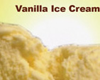 Vanilla Ice Cream Package